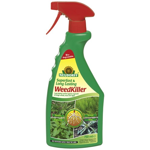 Neudorff  Superfast & Long  Lasting Weed Killer - 750ml
