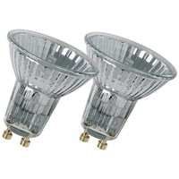 Osram  Reflector Light Bulb 50W GU10 - Twin Pack