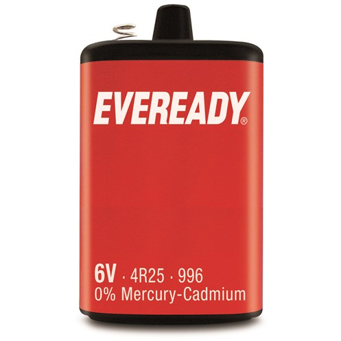 Eveready  6V 996 Battery