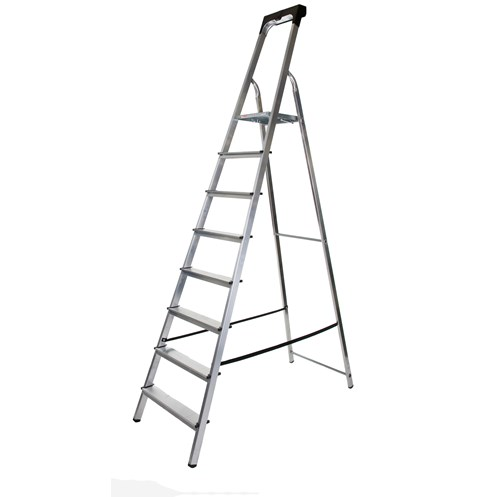 Werner  8 Tread Stepladder