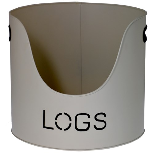 "Sirocco The Collection ""Logs"" Bucket Country Cream - 37cm"