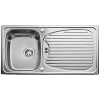 Leisure Euroline Single Bowl & Drainer Kitchen Sink - EL9501