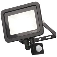 Zinc Rye 20W Slimline LED Floodlight with PIR