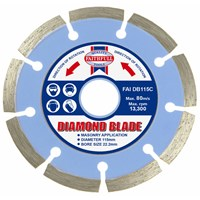 Faithfull  Contract Diamond Blade - 22mm