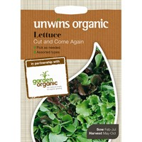Unwins  Lettuce Cut & Come Again Vegetable Seeds