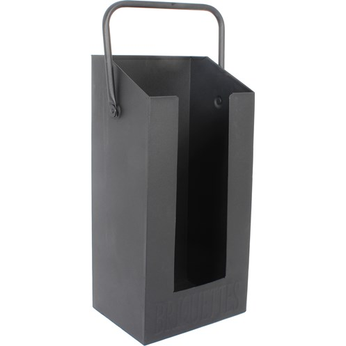 De Vielle  Black Briquette Holder