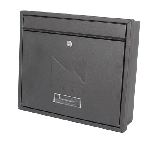 De Vielle  Contemporary Built-In Post Box
