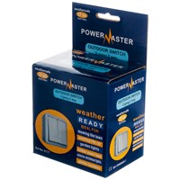 Powermaster  2 Way Outdoor Switch IP66 - 2 Gang