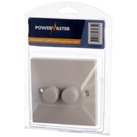 Powermaster  2 Way Dimmer Switch - 2 Gang
