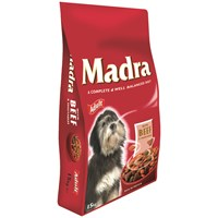 Madra  Dog Food with Beef & Vegetables - 15kg