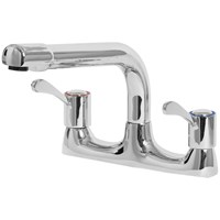 Sanbra Fyffe Eirline Dual Flow Lever Deck Sink Mixer